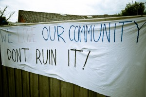 Banner we love  our community