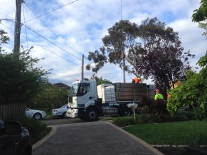 photo truck blocking neighbor 2014-10-14b