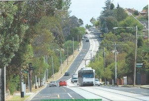 Riversdale Road East of Warrigal 7% gradient