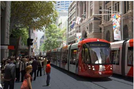 Sydney CBD and South East Light Rail   Click to enlarge