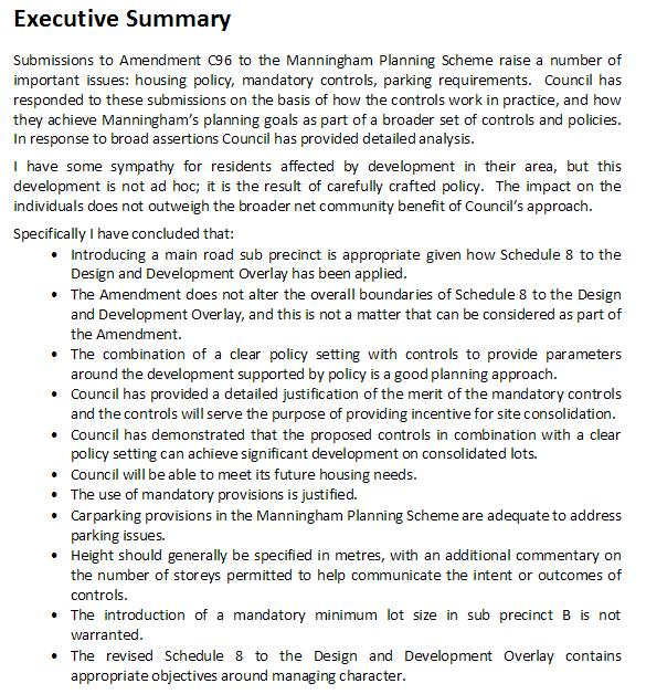 C96 IPP Report Executive Summary