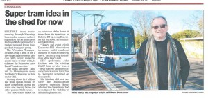 Light Rail to Doncaster Double click to enlarge