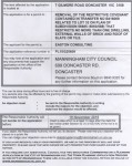Notice of application to remove  covenant. Click to enlarge