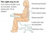 Correct way to sit Click to enlarge