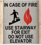 Stairways In Case of Fire Click to enlarge