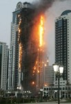 High Rise Building on Fire Click to Enlarge