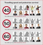 Speed/Pedestrian Survival Click to enlarge